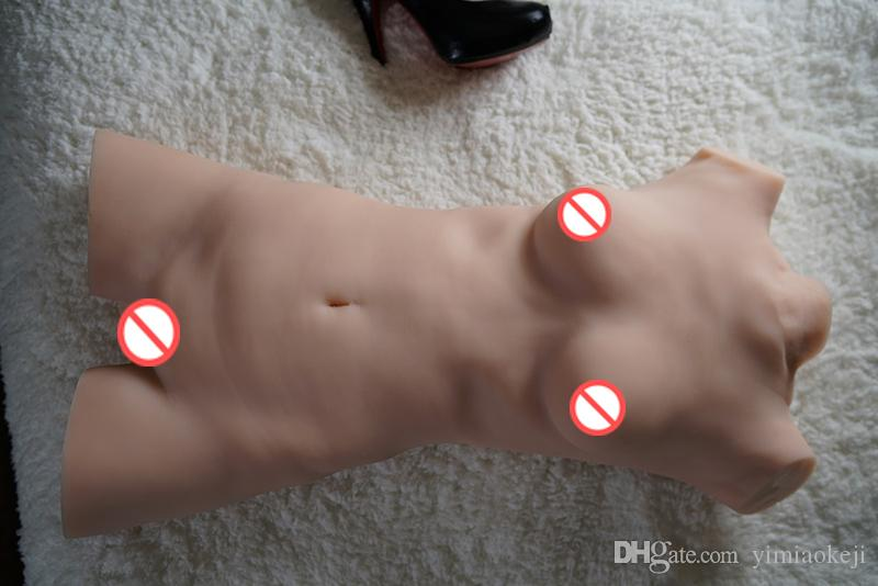 Real Love Sex Dolls sexy Dolls torso of the realistic Silicone breasts vagina masturbation Male ,Japanese realistic Sex Toy for Men