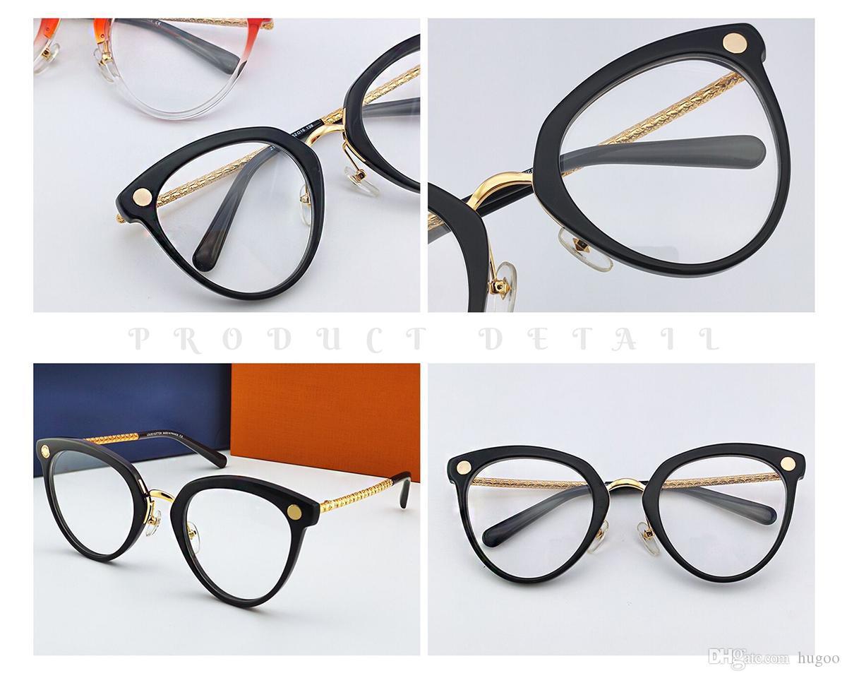 Mulheres de luxo Transparente Vidros do olho prescrição clara Millionaire Vidro Óculos Miopia presbiopia Vintage Optical Armações
