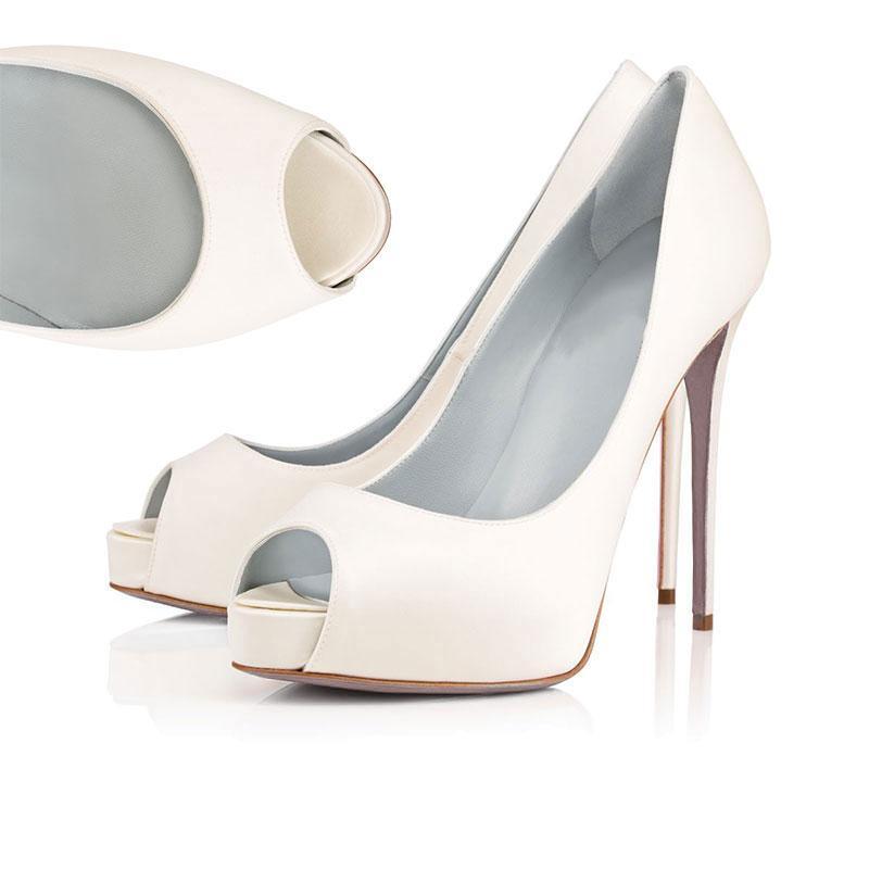 Calde di vendita-2019 Designer Shoes Sneakers Così Stili Kate tacchi rossi Bottoms Tacchi 12CM autentico punto Toe Pumps pelle dimensioni Gomma 35-42