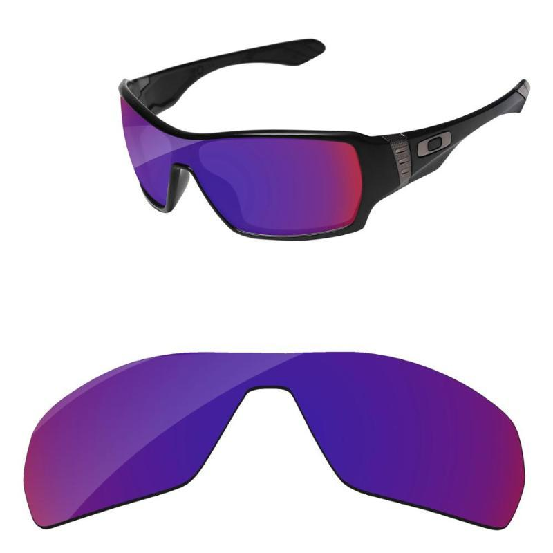 Polycarbonate-Indigo Road Mirror Replacement Lenses for Authentic Offshoot OO9190 Sunglasses Frame 100% UVA & UVB Protection
