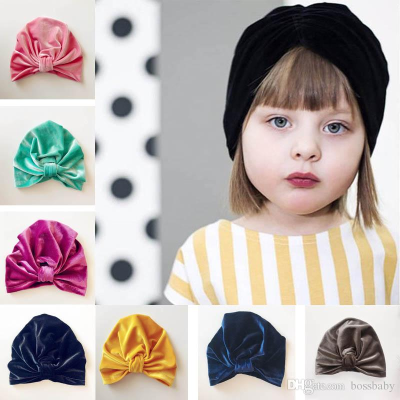 Three Flower Pearls Cotton Beanie Cap Newborn Baby Soft Solid Color Indian Hat