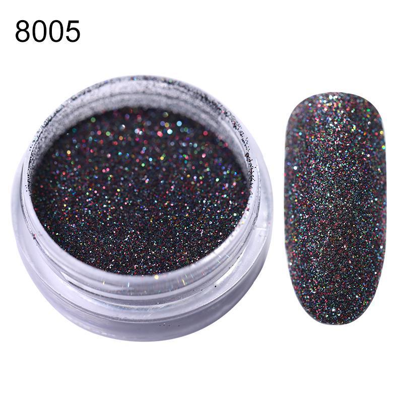 Ongles Glitter poudre Pigment poussière Nail Miroir couleur argent métallisé or rose brillant Champagne Nail Art Décorations Accessoires