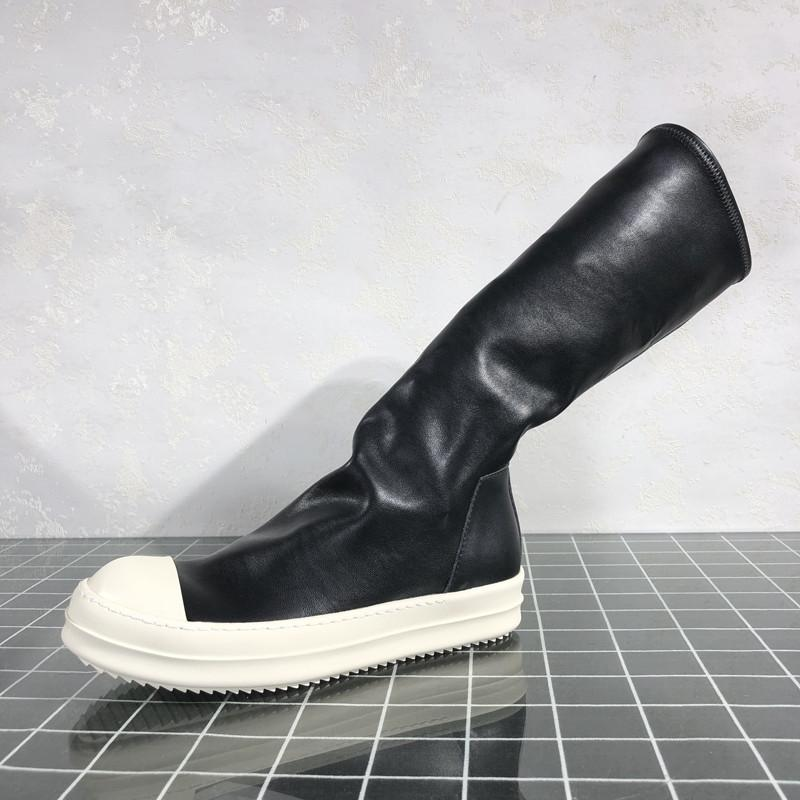 Мужчины High Boots Trending Суперзвезда обувь из мягкой кожи мужские Кроссовки 10 # 21 / 20d50
