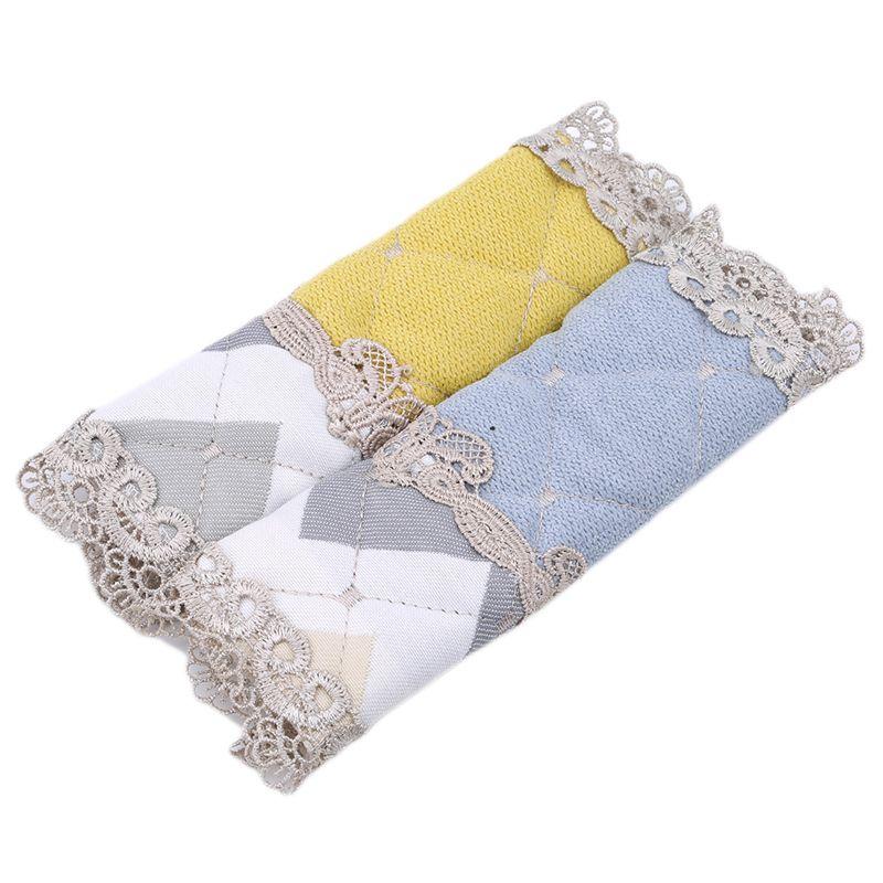 Frigorífico pega da tampa para geladeira Handle Tecido Doorknob poeira Luvas Handle bordado Lace Grosso Cloth Tampa