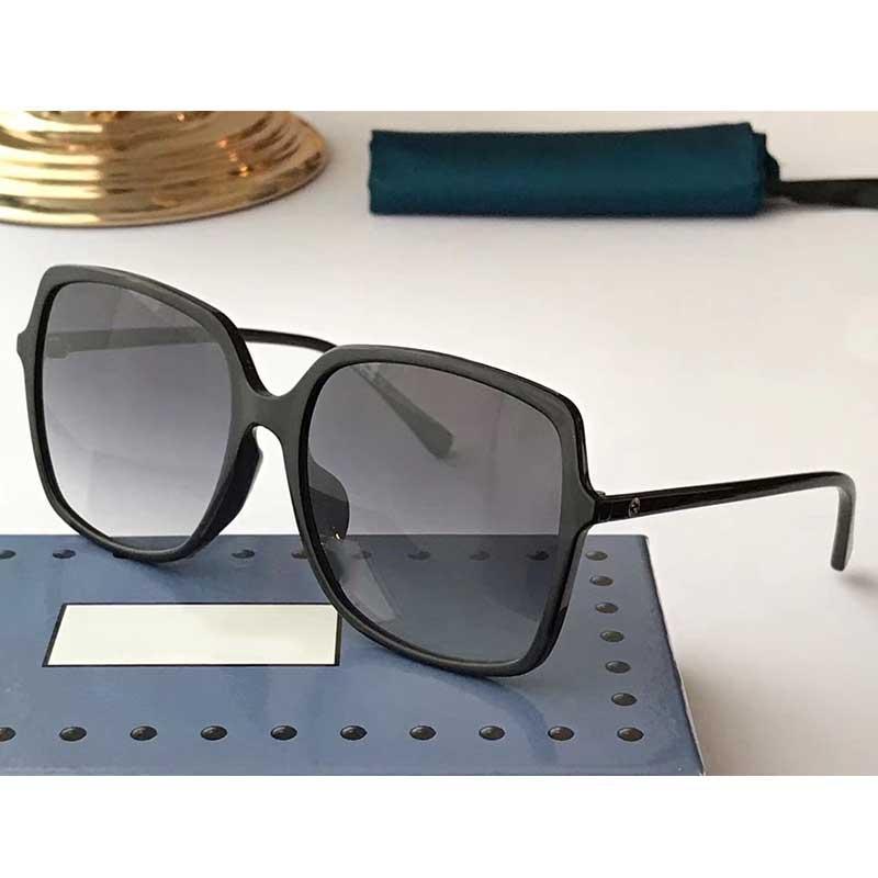2020 - Calidad clásicas gafas de piloto para hombre altos para mujer lentes Gafas de sol Gafas de metal de vidrio con caja 0544S
