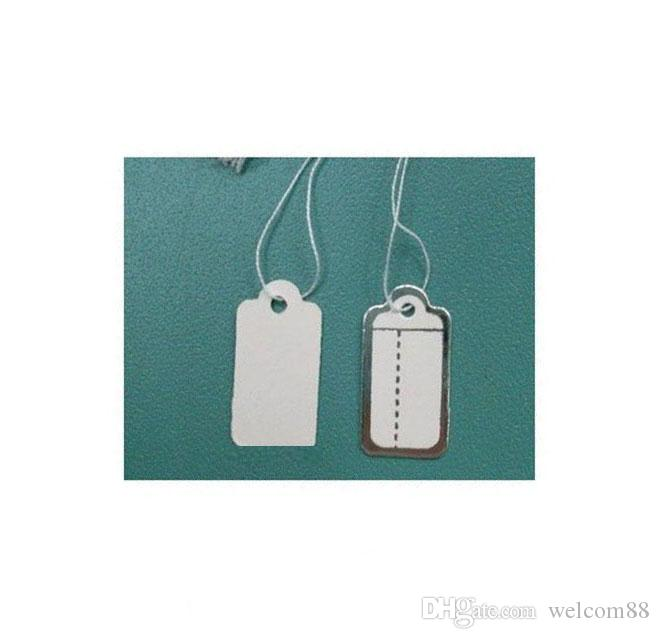 Free Shipping 500pcs/lot Label Tags Price Tags Card For Jewellery Gift Packaging Display 13mmX26mm LA01