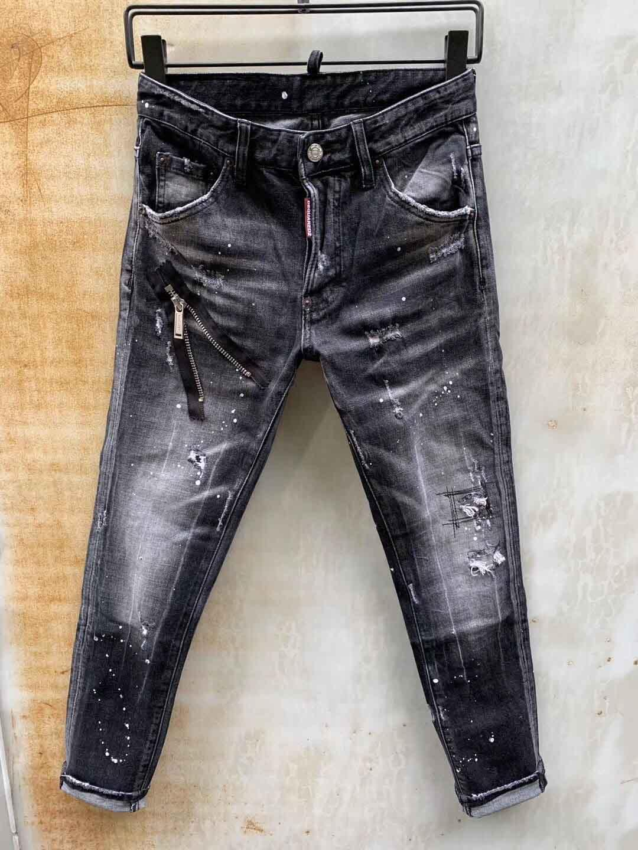 Autumn Winter Men Fashion Korea Style Vintage Loose Straight Fleece Cashmere Warm Denim Male Smart Casual Jeans Trousers Pants9
