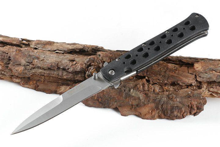 Cold Steel 26S 440 di tasca piegante di campeggio di sopravvivenza della lama di Natale lame del regalo coltello 1pcs Adco