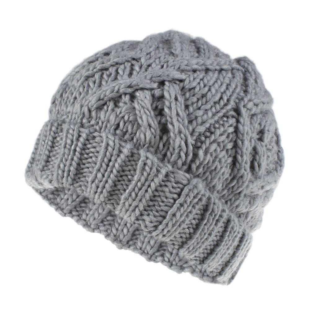 Le donne Beanie Cap Ragazze Tenere manuale caldo di lana a maglia paraorecchie morbidi cappelli spessore caldo maglia cofano Berretti Cotone Cappelli Twist modello LE413-T