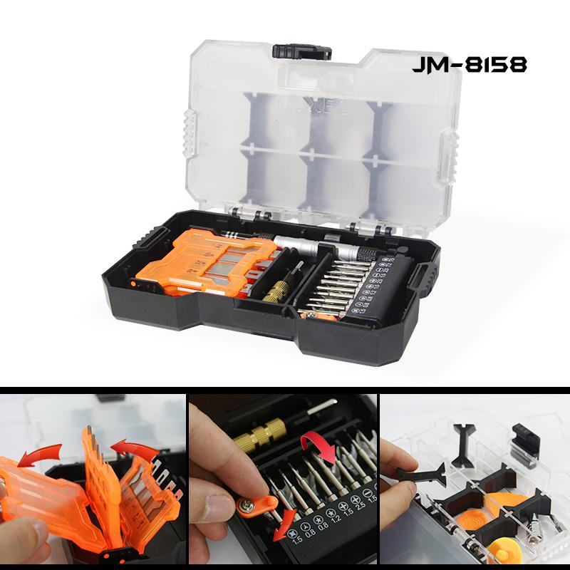 Jakemy Многофункциональный набор ручных инструментов деревообрабатывающие инструменты скальпель нож + набор отверток + сверла ящик для инструментов ремкомплект