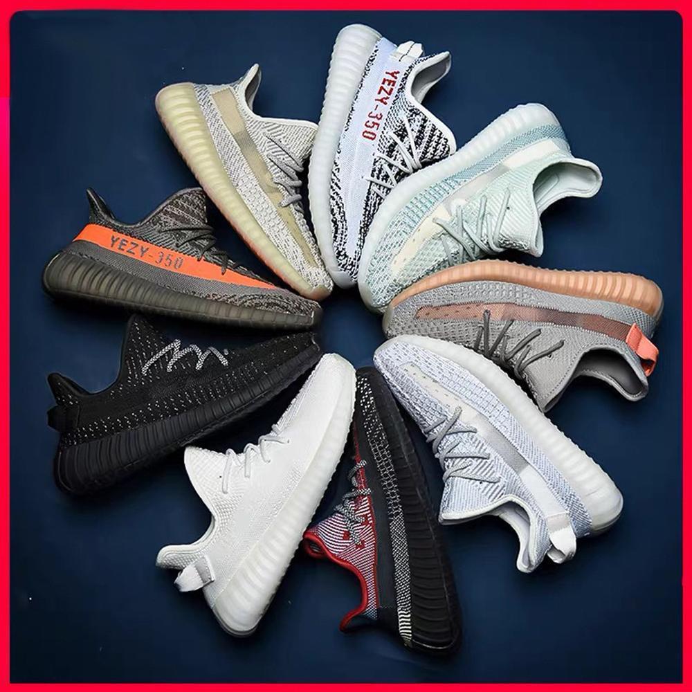 2020 kanye west adidas 350 V2 boost yeezy yeezys yezzy yezzys running Sneakers static yecheil white sesame Kanye West Sports shoes