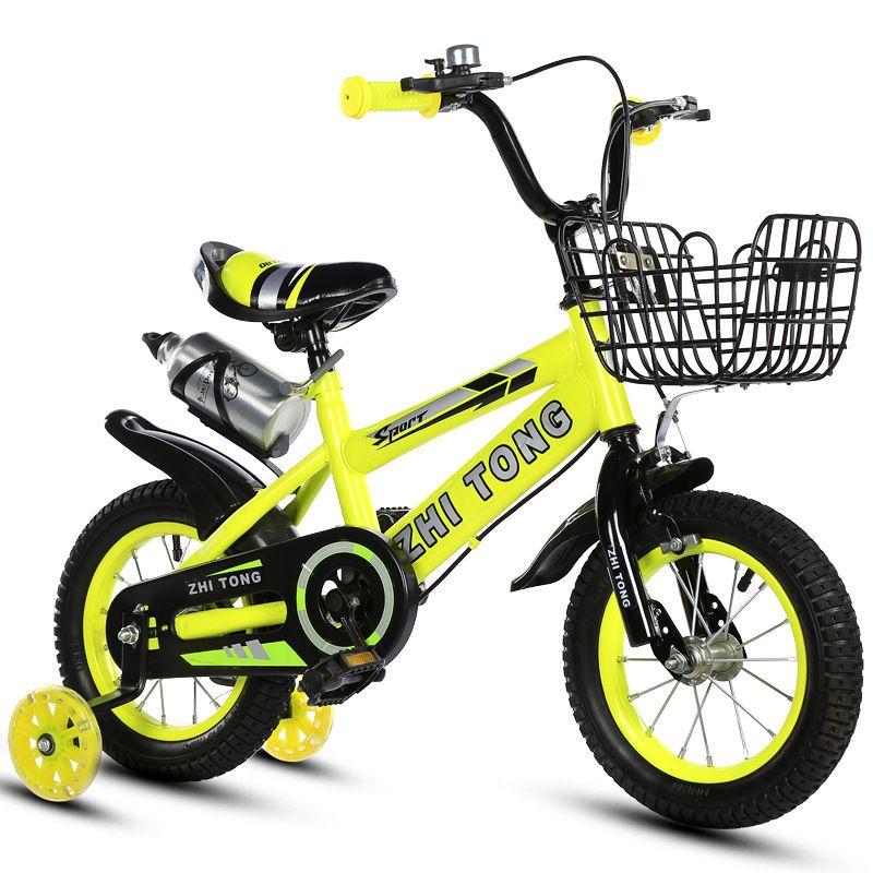 Kinderfahrrad 3 Jahre Männer und Frauen Baby-Fahrrad 2-4-6 Jahr Ein Kinderauto 12-14-16 Zoll Kinder motos Fatbike