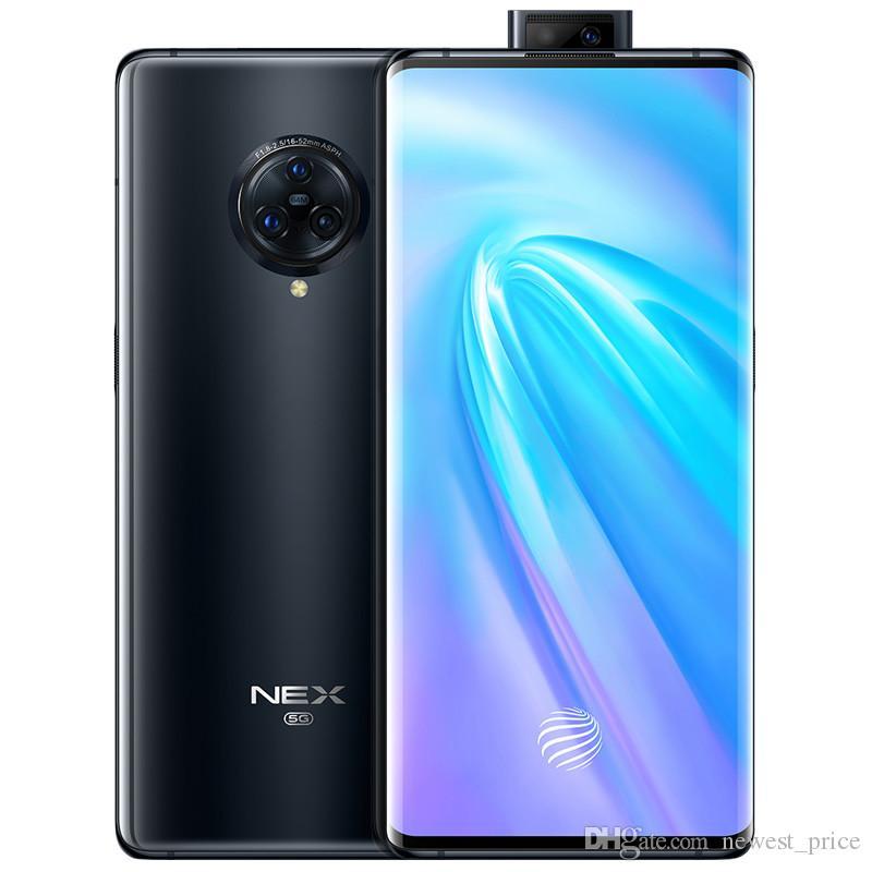 """원래 생체 넥스 3 4G LTE 휴대 전화 8기가바이트 RAM 1백28기가바이트 ROM 스냅 드래곤 855 플러스 옥타 코어 안드로이드 6.89 """"64MP 지문 ID 스마트 휴대 전화"""
