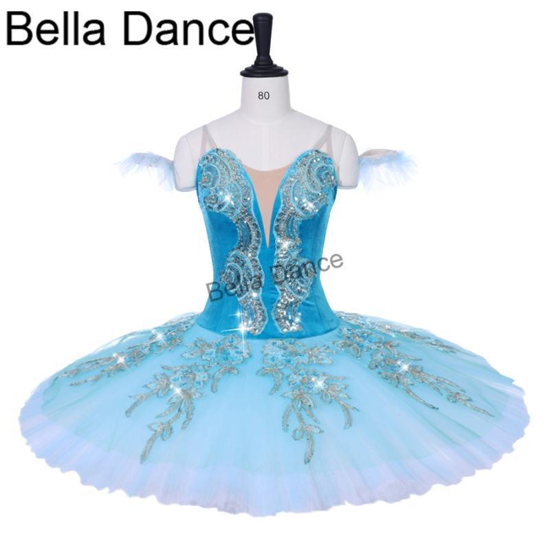 adulto verde de dormir verde belleza de variación trajes de la etapa profesional de ballet rendimiento competiton tutú infantil niñas BT9153B