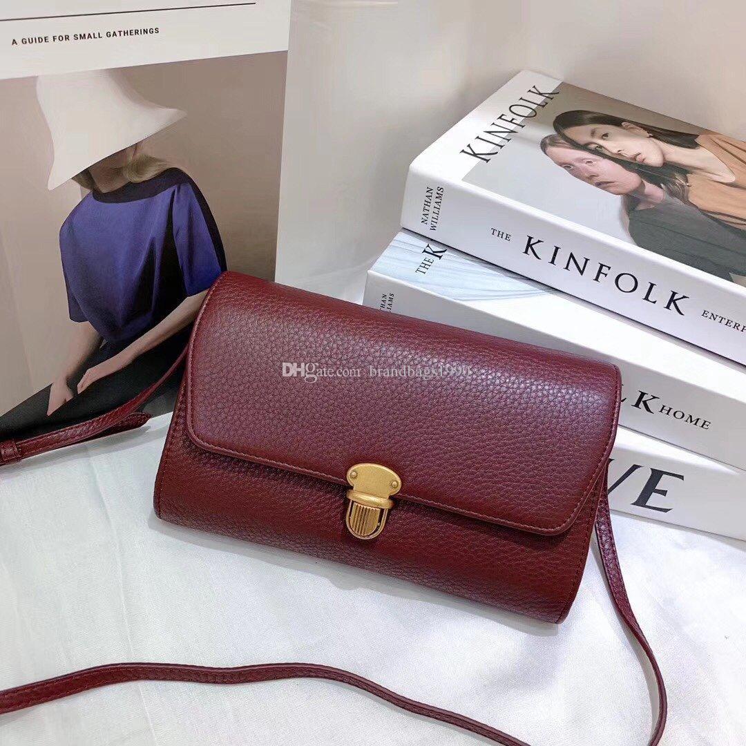 HBP 2020 Rote Designer Brieftasche Klassische Luxuszubehör Stoff PR Mini Tote Umhängetasche Höchste Qualität Tote Kostenloser Versand