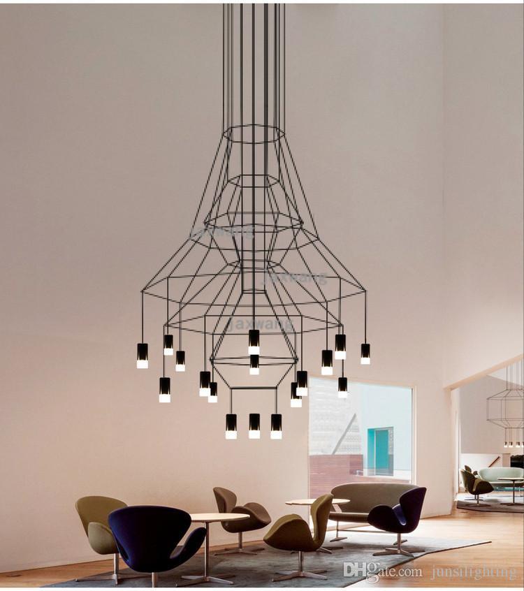 Europe chandelier lighting hotel dining room lustre chandeliers iron decor loft avize lampadario modern chandelier kronleuchter