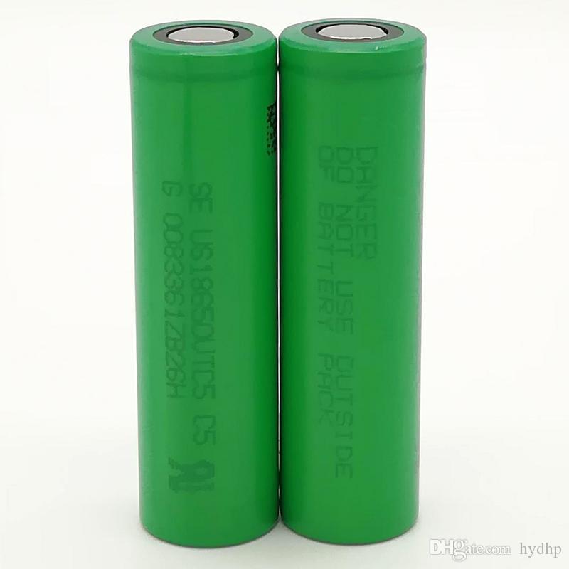 300pcs 100% di alta qualità per SONY VTC5 18650 2600mAh IMR 3.7V per LG SONY Samsung ricaricabile al litio cellulare