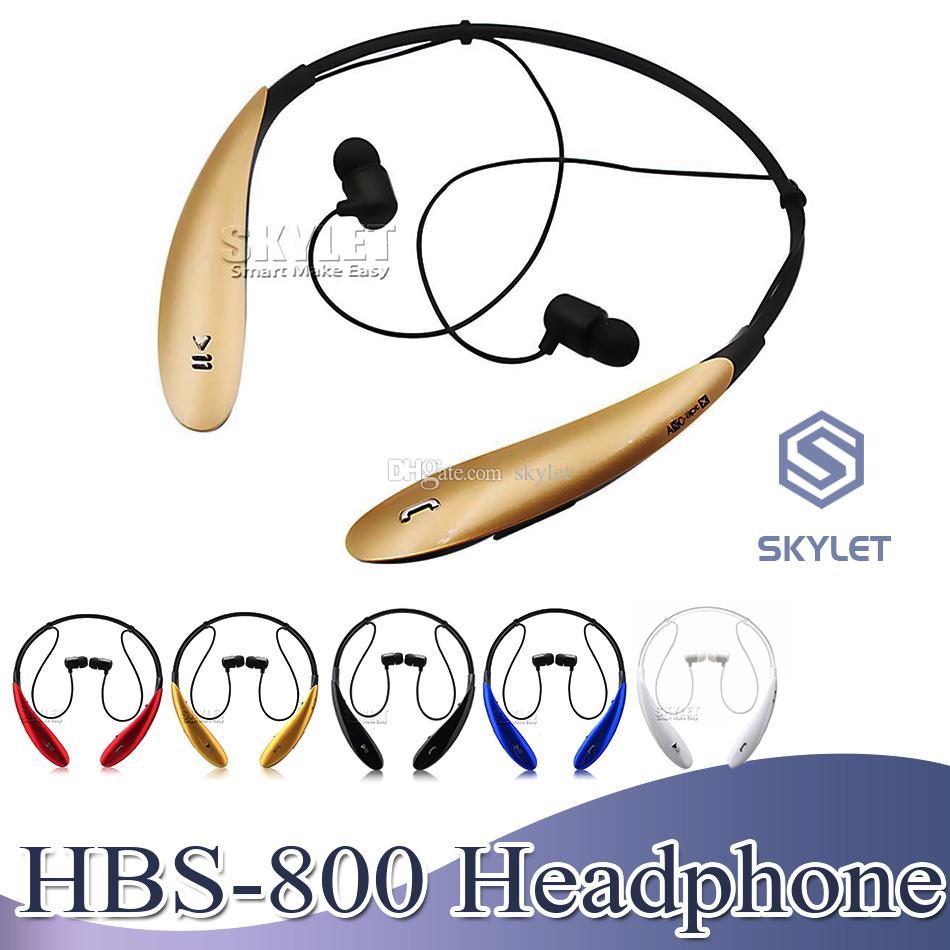 HBS800 Wireless Headphone Headset Bluetooth 4.0 In ear Stereo Earbuds Sport Jogging Earphones for iPhone Samsung XIAOMI LG Huawei with Box