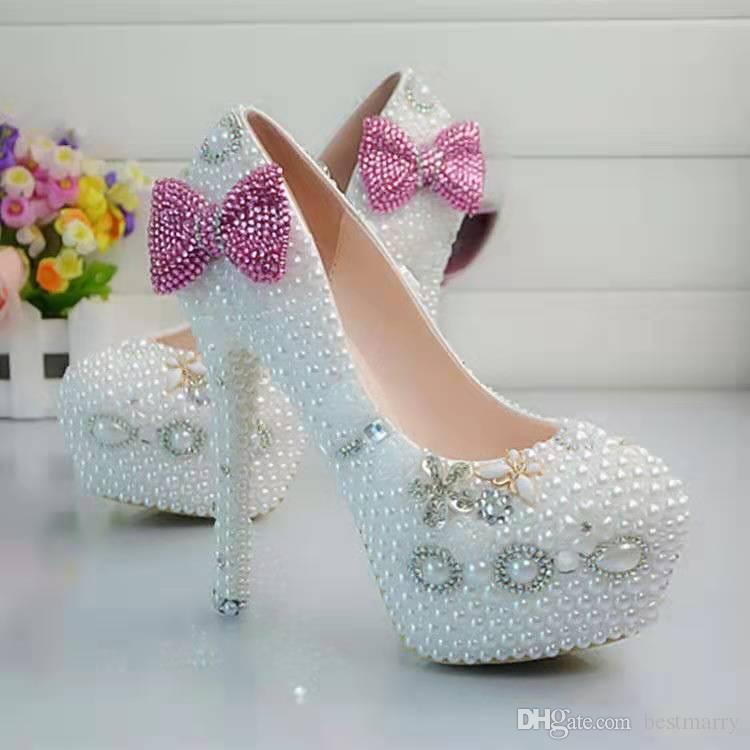 Pink Diamond High Heels