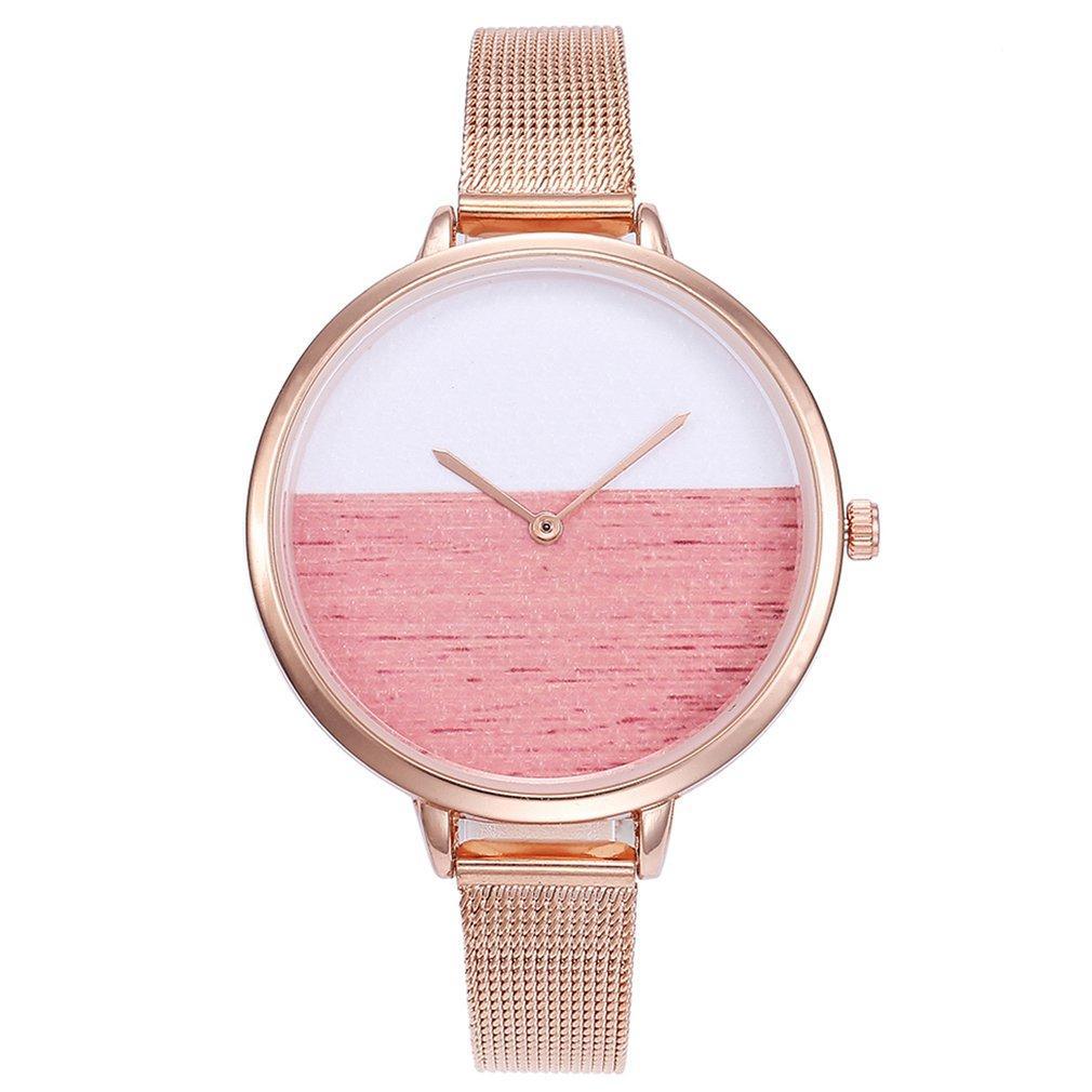 V370 Кварцевые Наручные Часы Браслет Простой Кварцевые Часы Модные Часы Женщины Дамы Повседневная Платье Наручные Часы