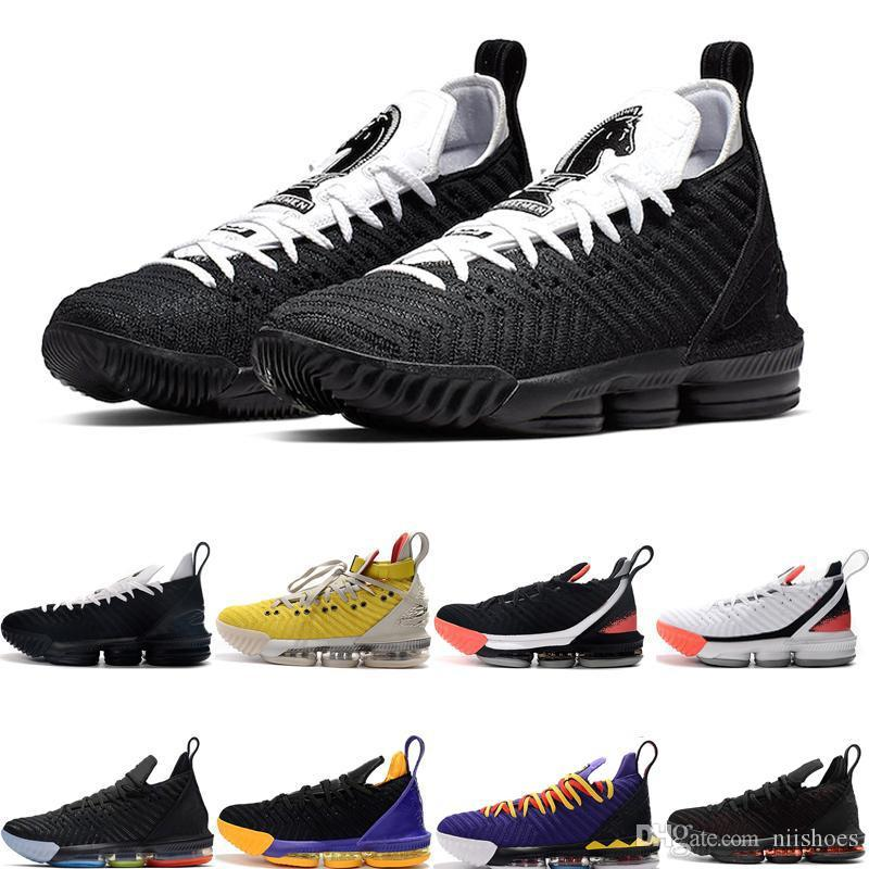 Four Horsemen 2019 New Arrival XVI 16 16s Basketball Shoes Heritage Martin Superbron King Court Purple 1 Thru 5 Mens Sports Sneakers 7-12