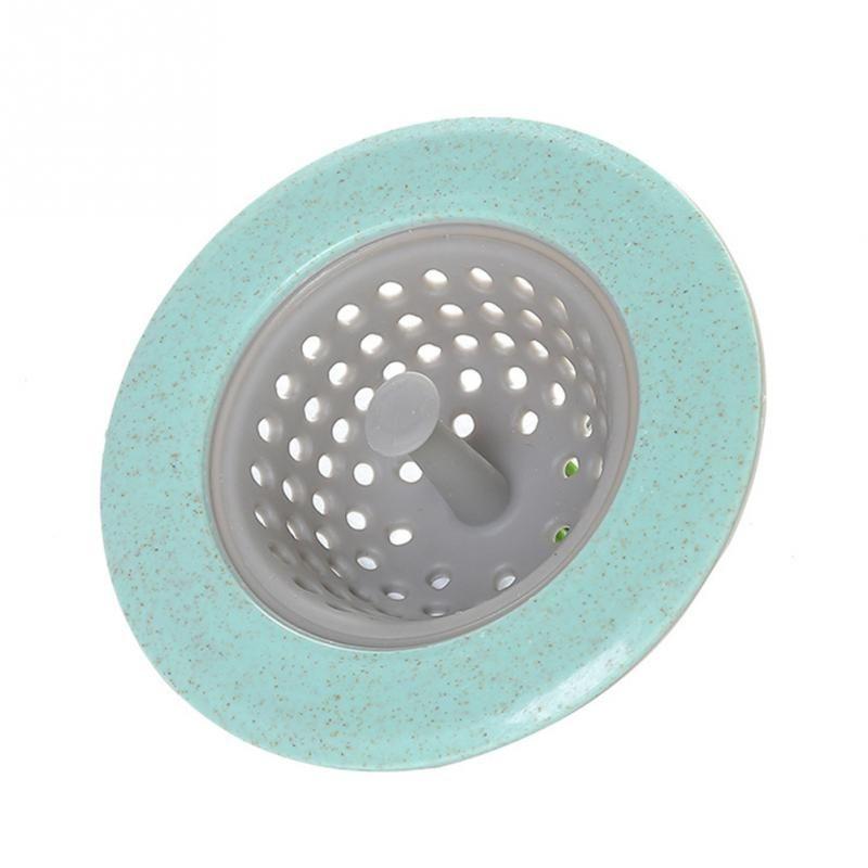 Hot New Kitchen/Bathroom Silicone Sink Filter Screen Floor Drain Hair Stopper Hand Sink Plug Bath Catcher Sink Strainer Tool