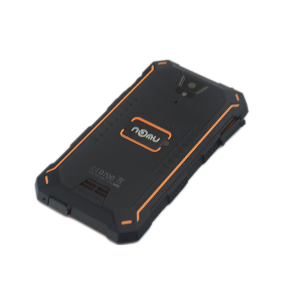 NOMU S10 Pil Kapağı 100% Orijinal Yüksek Kaliteli Cam Arka Pil Kutusu Için NOMU S10 Smartphone Ücretsiz Kargo stokta