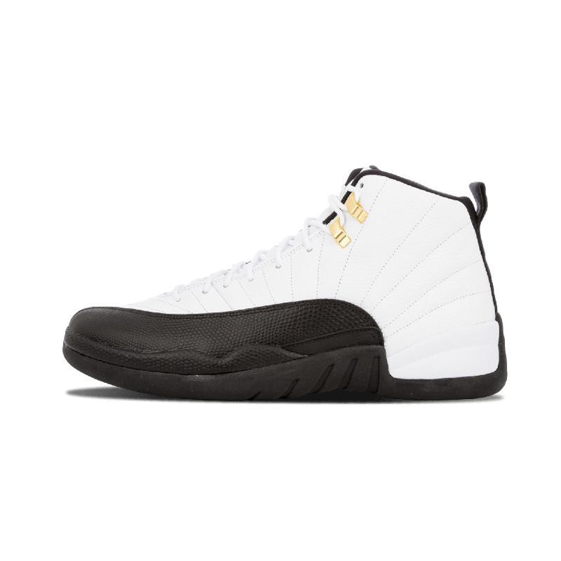 2020 NEW Новых 12s мужчин Обуви для баскетбола белого хозяина черного нейлона игры гриппа такси плех-офф волка серой шерсти спортивной обувь тапки