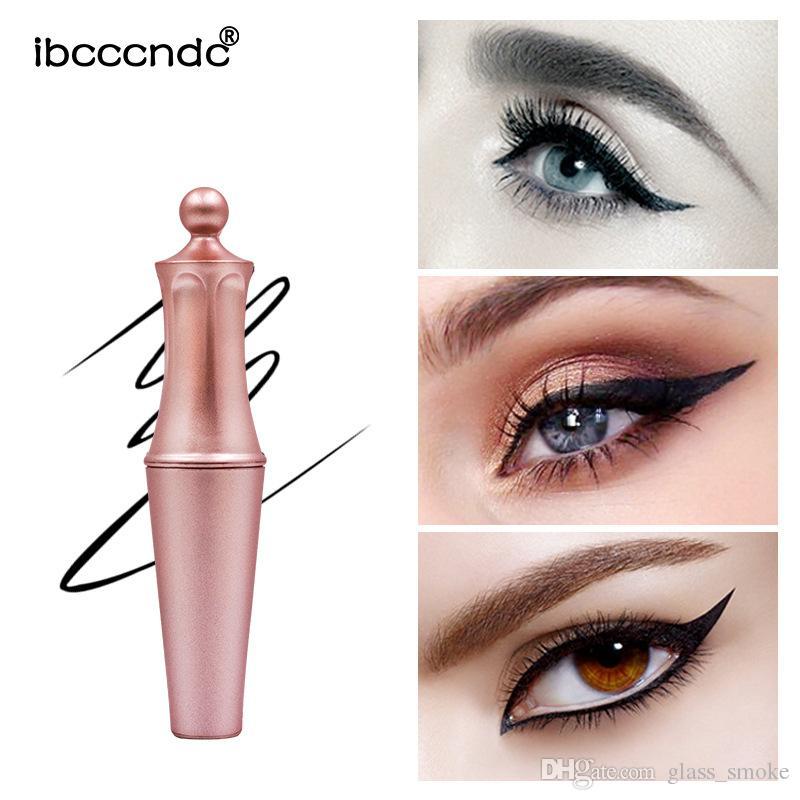 Magnetic Long Lasting Liquid Eyeliner Rose Gold Waterproof Eye Liner Stereoscopic Magnetic False Eyelashes Sweat Proof 4ml