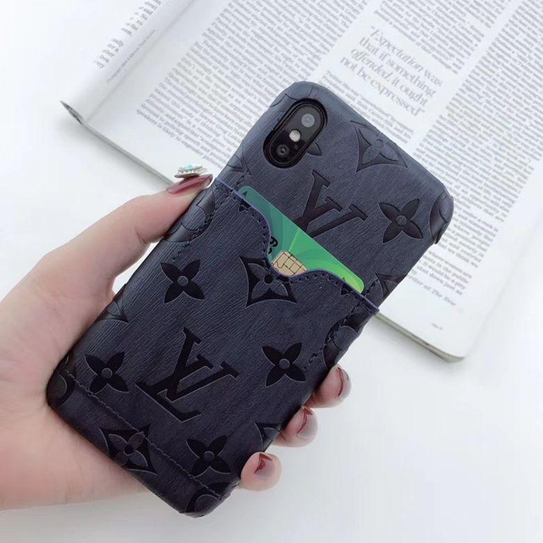 Flowers Matte Leather Wallet Phone Case
