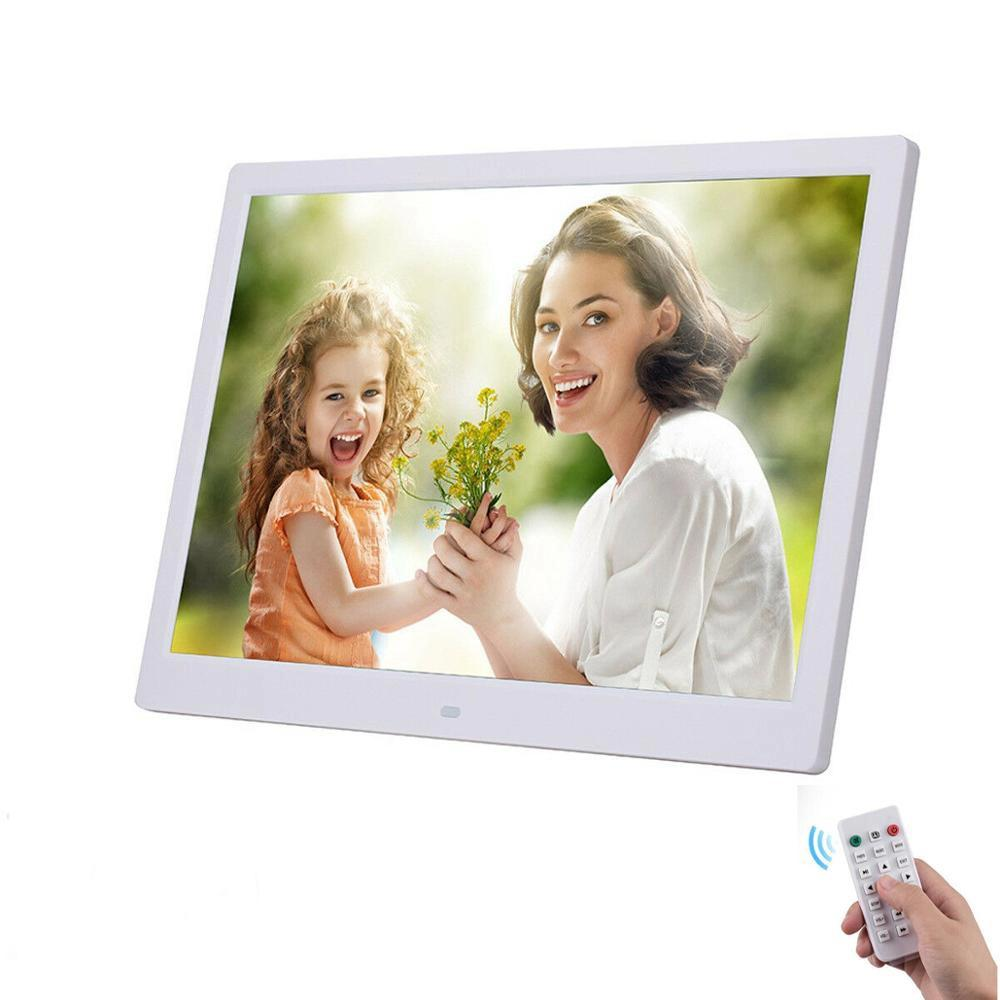 """10.1"""" HD Digital Photo Frame Picture Mult-Media Player MP3 MP4 Alarm Clock For Gift T200320"""
