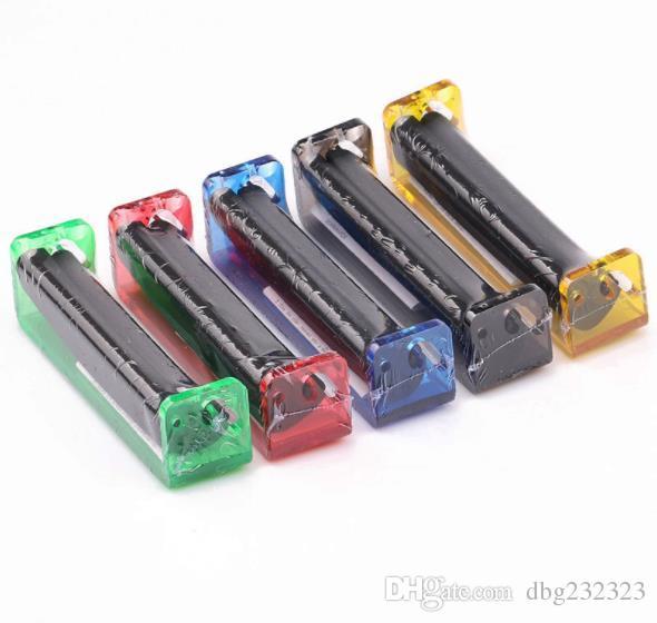 Los diversos colores del llenador plástico plástico del cigarrillo de las colocaciones de cigarrillo manuales del 110MM se pueden seleccionar