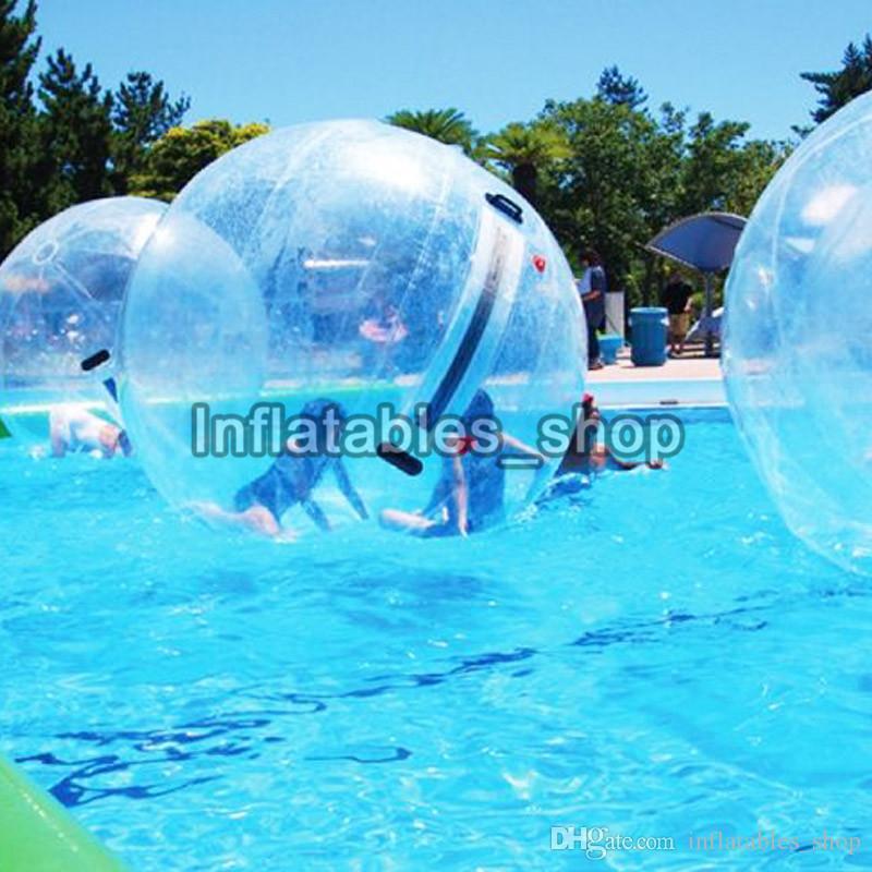 1.3 m 1.5 m 1.8 m Çocuklar Su oyuncak Yürüyüş topu PVC şişme haddeleme topu su dans zorb topları spor büyük toplar