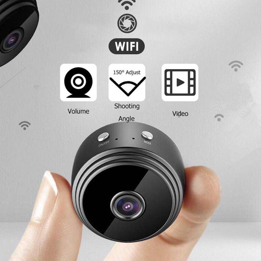 A9 1080P Full-HD Mini Wi-Fi IP-камера Беспроводные мини-видеокамеры Крытый домашний Безопасность Ночное видение Мобильное Обнаружение Удаленная сигнализация SQ8 SQ11 S06