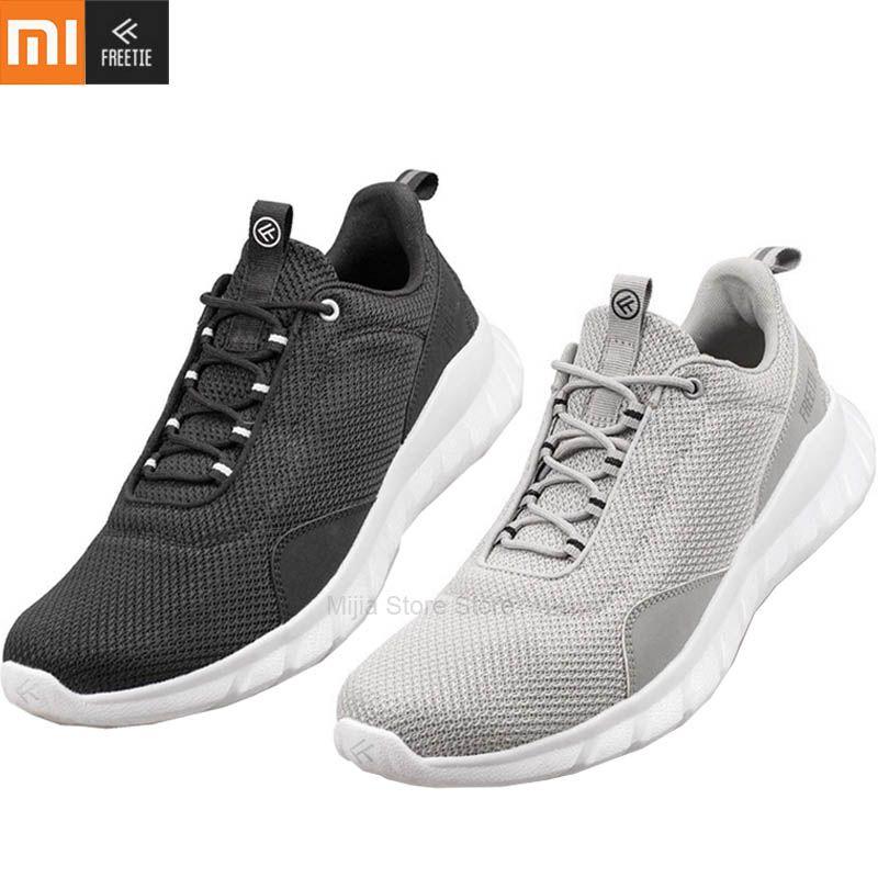 أحذية XIAOMI FREETIE الرياضية خفيفة الوزن تهوية مطاطا الحياكة أحذية تنفس منعش مدينة الجري رياضة للرجل