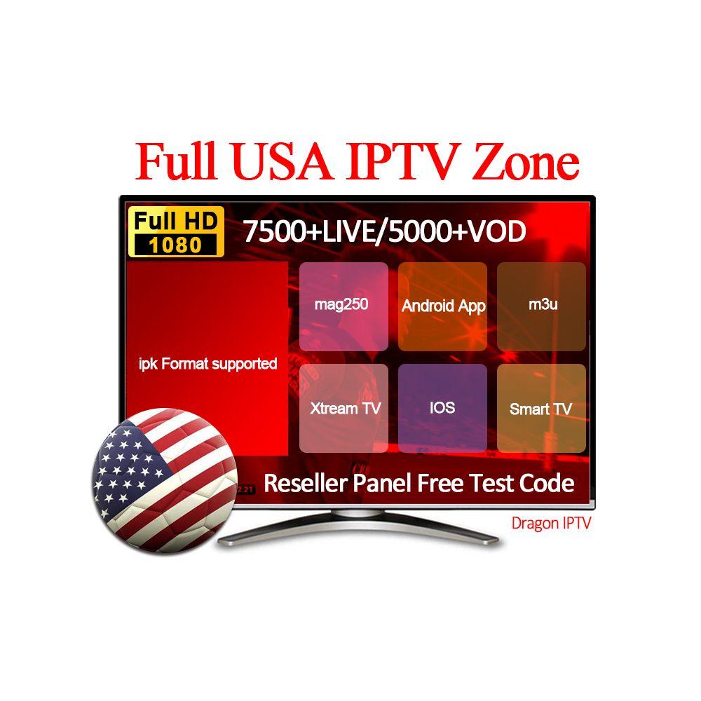 2019 Dragon IPTV Subscription USA Arabic Europe French