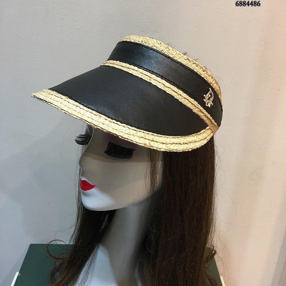 Nouveau chapeau de soleil vide, un style personnalisé, sur mesure par l'industrie lourde, chapeau de soleil transparent, excellente qualité