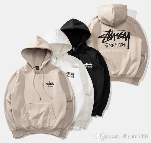 Designer -New Art und Weise Warmer Hoodie Stickerei Männer Frauen Mode Sweatshirts mit Kapuze Herren Skateboard PulloverHoodies Männer Hoodie