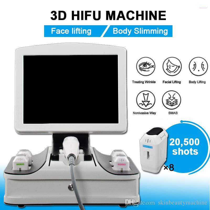 2019 3D HIFU Slimming Machine Face Lifting Wrinkle Removal Body Slimming Skin Rejuvenation Slimming Machine 3D HIFU