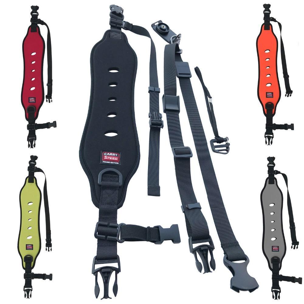 Caméra épaule simple courroie de cou rapide Anti-Slip presse Soft Pad Sling nylon ceinture Sangle pour appareil photo SLR numérique DSLR