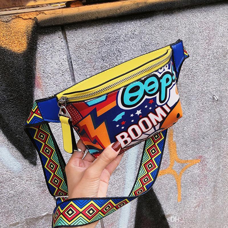 Sac oblique individuel Baitao Chaîne Sac Slant sac à bandoulière Rivet Rivet Taille Pack Sport Portable Individuel épaule simple oblique straddl