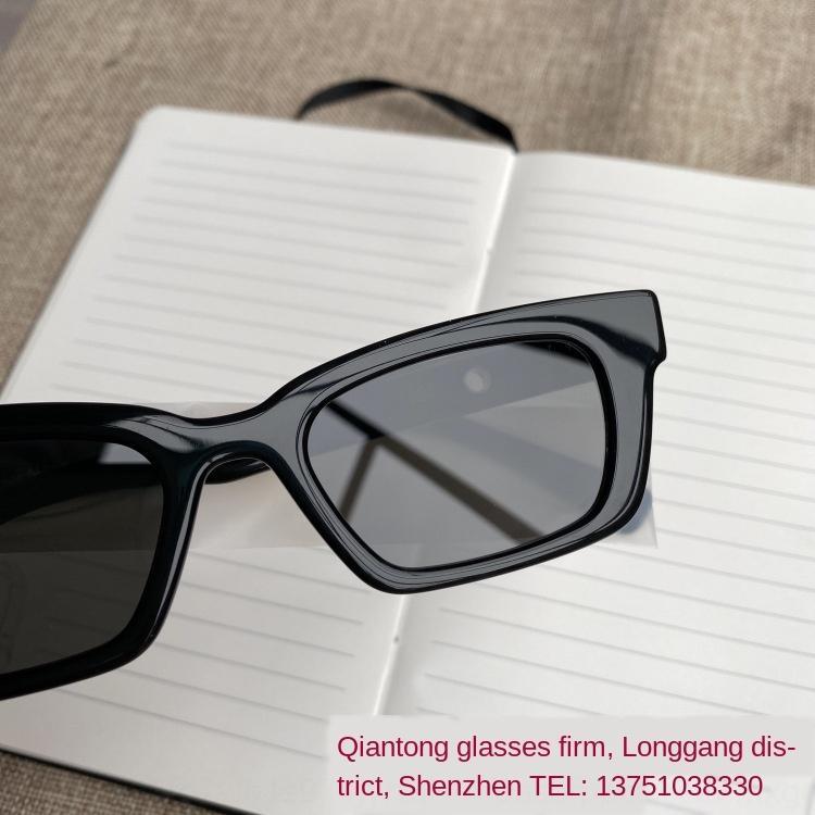 Qian Tong JENNIE Lu Han GM erkekler aynı tarz küçük ve kadınlar için 1996 ortak markalı yüz süper serin güneş gözlüğü güneş gözlüğü nao4H