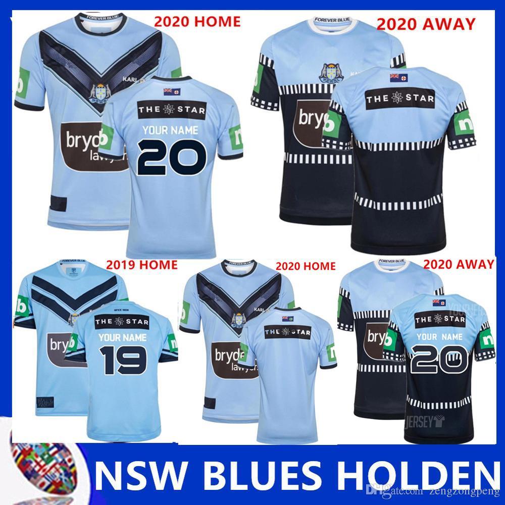 NSW BLUES SOO 2019 jerseys Home Jersey de rugby de alta qualidade New New South Wales Waratahs jerseys rugby tamanho S-5XL