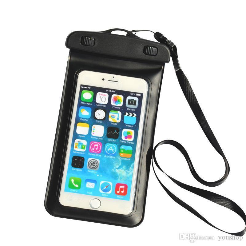 Universal Mobile Téléphone PVC Sous-marine Sac étanche Pouch piscine plongée sous-marine pour l'iphone 7/7 plus / 6s / 6 Plus