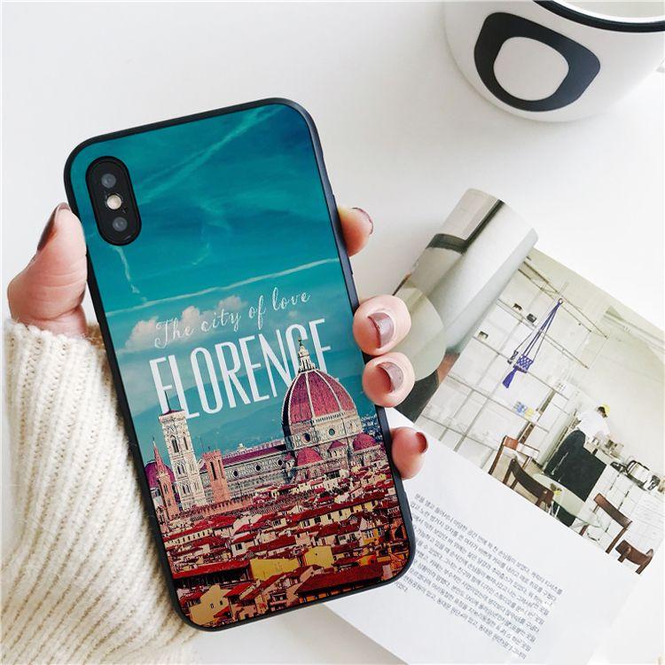 Luxe Firenze Florence Coque Italie Ville Pour IPhone 11 Pro Xs Max Xr Pour IPhone 8 7 6s Plus SE 5 Cas 5S Couverture Souple En Silicone. Proposé Par ...