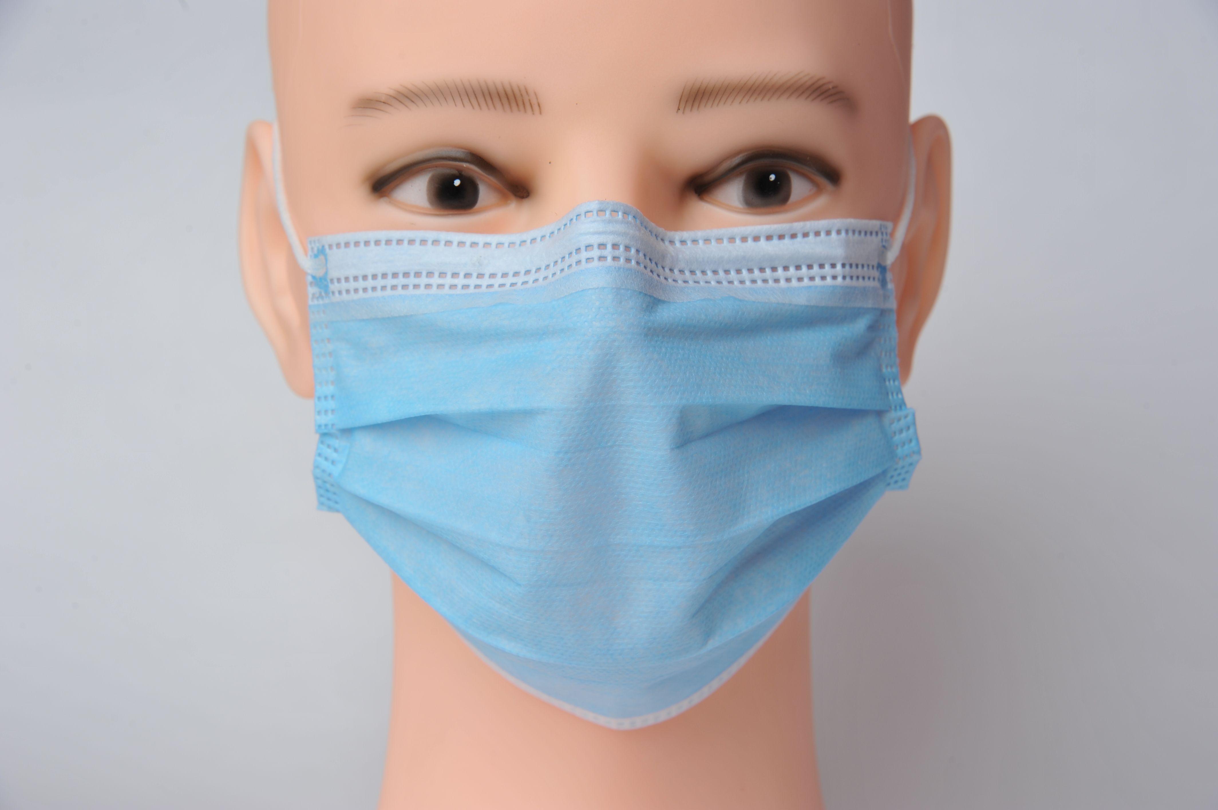 Máscara de protección rápida ¡Bloqueo grande anti-contaminación! Con acciones desechables 3-7 Polvo polvo transpirable elástico 3 para UPS Entrega Oreja EIJM