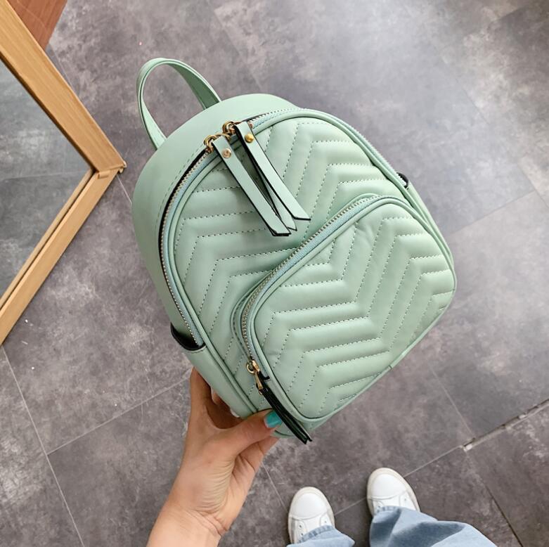 2020 Women Backpack Casual Student Schoolbag Travel Bag Large Capacity Handbags Small Totes Backpacks