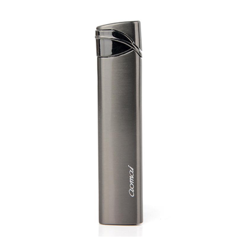 Ms.use 금속 시가 라이터 새 스타일 Am091 담배 액세서리 방풍 슬림 가스 라이터