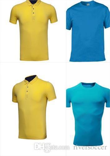 Классический Мужчины ПОЛО шелкового волокна с коротким рукавом Равномерное футболку или рубашку женщин длинные WDSE-099