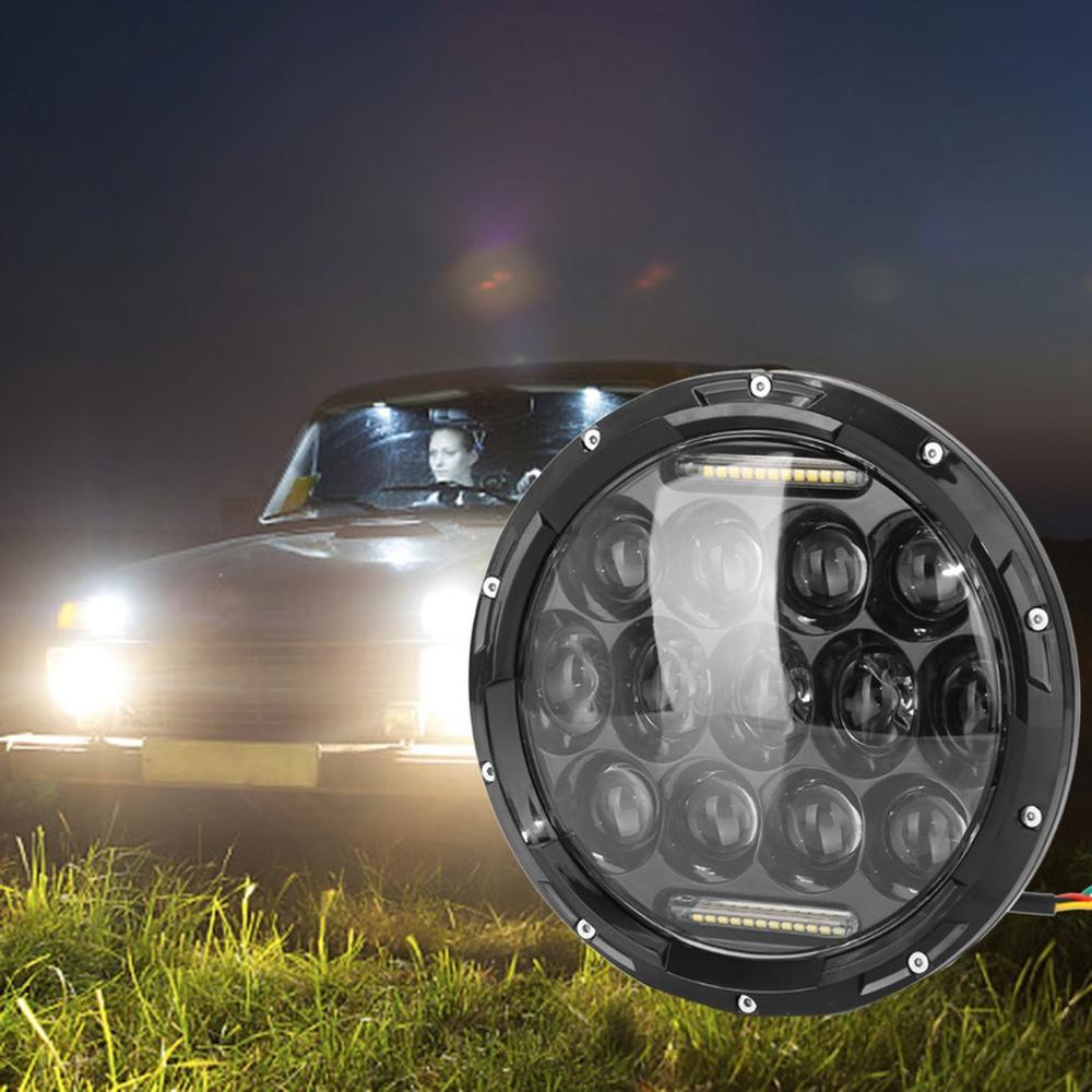 2021 7 Inch Round 75w Headlights Modified Led Headlight Durable Spotlights Multi Functional Led Headlight From Miniputao 34 64 Dhgate Com